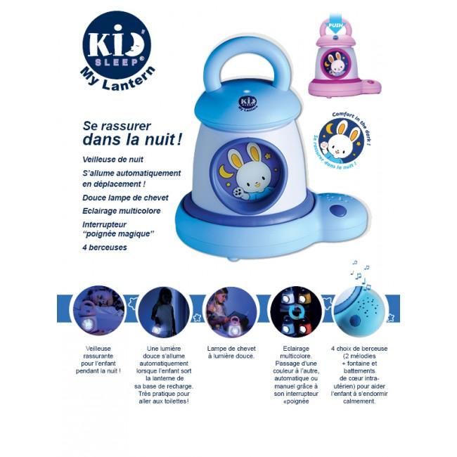 veilleuse musicale kid 39 sleep rose lilikim bleu griotte. Black Bedroom Furniture Sets. Home Design Ideas