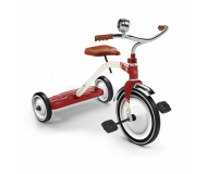 Tricycle Vintage rouge BAGHERA - Bleu Griotte