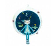 Mobile Capsulette laton raveur L'Oiseau Bateau - Bleu Griotte
