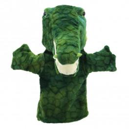 Marionnette Crocodile Puppet Buddies The Puppet Company - Bleu Griotte
