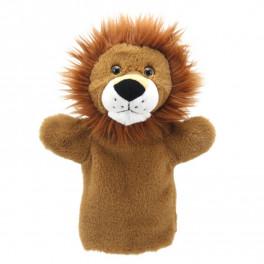 Marionnette Lion Puppet Buddies The Puppet Company - Bleu Griotte