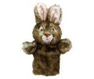 Marionnette Lapin sauvage Puppet Buddies The Puppet Company - Bleu Griotte