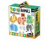 Tactile animals Montessori Headu - Bleu Griotte
