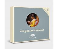 Jeu de 12 familles Les grands écrivains - Sylvie de Soye - Bleu Griotte