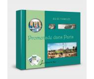Jeu de 7 familles Promenade dans Paris - Sylvie de Soye - Bleu Griotte