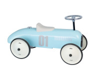 Porteur voiture vintage bleu tendre Vilac - Bleu Griotte