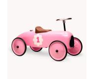 Porteur voiture vintage rose tendre Vilac - Bleu Griotte