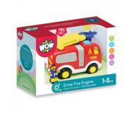Camion de pompier Ernie - WOW - Bleu Griotte