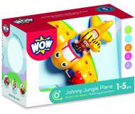 Avion de la jungle Johnny - WOW - Bleu Griotte