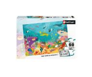 Puzzle Les animaux des océans 60 pièces Nathan - Bleu Griotte