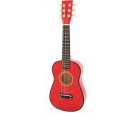 Guitare rouge Ulysse - Bleu Griotte